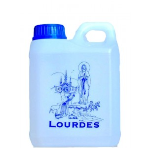 Can 1 liter of water of Lourdes.