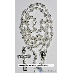 Chapelet de Lourdes en argent