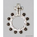 Dizainier di Lourdes dedo de metal