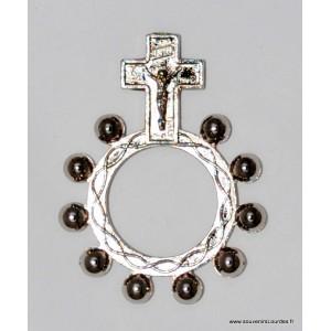 dizainier ring Lourdes metal