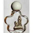 Bouteille VIOLETTE avec l'eau de Lourdes